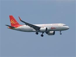 goshiさんが、シンガポール・チャンギ国際空港で撮影したGXエアラインズ A320-251Nの航空フォト(飛行機 写真・画像)