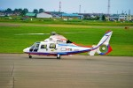 hidetsuguさんが、札幌飛行場で撮影した北海道航空 AS365N2 Dauphin 2の航空フォト(写真)
