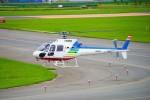 hidetsuguさんが、札幌飛行場で撮影した北海道航空 AS350B2 Ecureuilの航空フォト(写真)