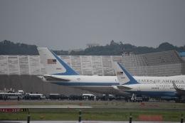 JAA DC-8さんが、伊丹空港で撮影したアメリカ空軍 VC-25A (747-2G4B)の航空フォト(飛行機 写真・画像)