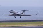 yabyanさんが、中部国際空港で撮影したウィルミントン・トラスト・カンパニー G500/G550 (G-V)の航空フォト(飛行機 写真・画像)