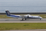 ANA744Foreverさんが、中部国際空港で撮影したANAウイングス DHC-8-402Q Dash 8の航空フォト(写真)