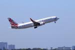 かみじょー。さんが、シドニー国際空港で撮影したヴァージン・オーストラリア 737-8FEの航空フォト(写真)