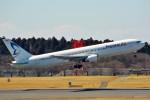 ちっとろむさんが、成田国際空港で撮影したビジネスエアー 767-383/ERの航空フォト(写真)