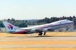 ちっとろむさんが、成田国際空港で撮影したマレーシア航空 747-4H6F/SCDの航空フォト(写真)