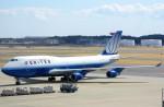 ちっとろむさんが、成田国際空港で撮影したユナイテッド航空 747-422の航空フォト(写真)