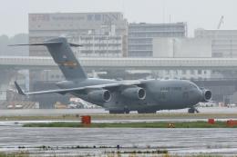 リクパパさんが、伊丹空港で撮影したアメリカ空軍 C-17A Globemaster IIIの航空フォト(飛行機 写真・画像)