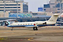 Jin Bergqiさんが、伊丹空港で撮影した航空自衛隊 U-4 Gulfstream IV (G-IV-MPA)の航空フォト(写真)
