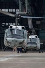 まんぼ しりうすさんが、伊丹空港で撮影したアメリカ空軍 UH-1Nの航空フォト(写真)