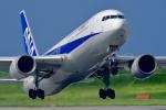 HISAHIさんが、宮古空港で撮影した全日空 767-381/ERの航空フォト(写真)