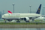 たーぼーさんが、羽田空港で撮影したサウディア 777-368/ERの航空フォト(写真)