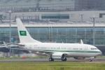 たーぼーさんが、羽田空港で撮影したサウジアラビア王室空軍 737-7DP BBJの航空フォト(写真)
