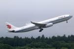 まえちんさんが、成田国際空港で撮影した中国国際航空 A330-343Xの航空フォト(写真)