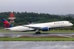 まえちんさんが、成田国際空港で撮影したデルタ航空 A350-941XWBの航空フォト(写真)