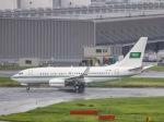 kikiさんが、羽田空港で撮影したサウジアラビア王室空軍 737-7DP BBJの航空フォト(写真)