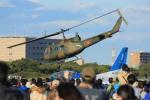 メンチカツさんが、入間飛行場で撮影した陸上自衛隊 UH-1Jの航空フォト(写真)