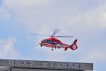 VOXY2005さんが、群馬大学医学部附属病院へリポートで撮影した埼玉県防災航空隊 AS365N3 Dauphin 2の航空フォト(飛行機 写真・画像)