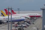 yabyanさんが、中部国際空港で撮影したトルコ政府 747-8ZV(BBJ)の航空フォト(飛行機 写真・画像)