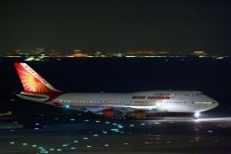 とらとらさんが、羽田空港で撮影したエア・インディア 747-437の航空フォト(飛行機 写真・画像)