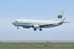 くれないさんが、関西国際空港で撮影したサウジアラビア王室空軍 737-8DP BBJ2の航空フォト(飛行機 写真・画像)