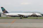Hariboさんが、名古屋飛行場で撮影したATA航空 757-23Nの航空フォト(写真)