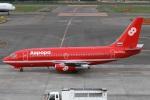 Hariboさんが、新千歳空港で撮影したオーロラ 737-2J8/Advの航空フォト(写真)