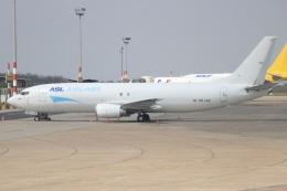 ぽっぽさんが、フェレンツリスト国際空港で撮影したASLエアラインズ・ベルギー 737-4Q8(SF)の航空フォト(飛行機 写真・画像)