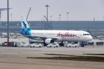 xingyeさんが、西安咸陽国際空港で撮影したモルディビアン A321-211の航空フォト(写真)