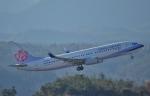 鉄バスさんが、広島空港で撮影したチャイナエアライン 737-8MAの航空フォト(写真)