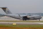 344さんが、岩国空港で撮影したアメリカ空軍 C-17A Globemaster IIIの航空フォト(写真)