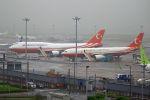 ふるちゃんさんが、羽田空港で撮影したトルコ政府 747-8ZV(BBJ)の航空フォト(写真)