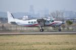kumagorouさんが、仙台空港で撮影した朝日航空 208B Grand Caravanの航空フォト(飛行機 写真・画像)
