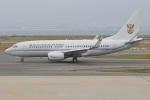 ジェットジャンボさんが、関西国際空港で撮影した南アフリカ空軍 737-7ED BBJの航空フォト(写真)