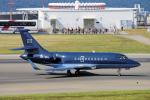 yabyanさんが、中部国際空港で撮影したsaxo bank Falcon 2000LXの航空フォト(飛行機 写真・画像)