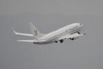 ITM44さんが、関西国際空港で撮影した南アフリカ空軍 737-7ED BBJの航空フォト(写真)