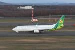 kuro2059さんが、新千歳空港で撮影した春秋航空日本 737-81Dの航空フォト(写真)