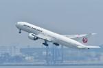 おかめさんが、羽田空港で撮影した日本航空 777-346/ERの航空フォト(写真)