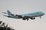 ドラパチさんが、成田国際空港で撮影した大韓航空 747-8B5F/SCDの航空フォト(写真)