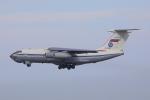 じゃりんこさんが、中部国際空港で撮影したロシア空軍 Il-76/78/82の航空フォト(写真)