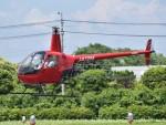 とびたさんが、栃木ヘリポートで撮影したアルファーアビエィション R22 Beta IIの航空フォト(写真)