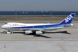Hariboさんが、羽田空港で撮影した全日空 747-281Bの航空フォト(飛行機 写真・画像)