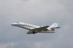 ANA744Foreverさんが、名古屋飛行場で撮影した朝日航洋 680 Citation Sovereignの航空フォト(写真)