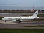 PW4090さんが、関西国際空港で撮影したサウジアラビア王室空軍 737-8DP BBJ2の航空フォト(飛行機 写真・画像)