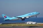 yabyanさんが、中部国際空港で撮影した大韓航空 747-4B5の航空フォト(写真)