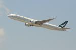 OMAさんが、香港国際空港で撮影したキャセイパシフィック航空 777-31Hの航空フォト(写真)