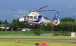 EosR2さんが、鹿児島空港で撮影したオールニッポンヘリコプター AS365N2 Dauphin 2の航空フォト(写真)