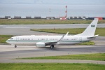 kurubouzuさんが、関西国際空港で撮影したサウジアラビア王室空軍 737-8DP BBJ2の航空フォト(飛行機 写真・画像)