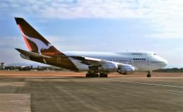 ハミングバードさんが、名古屋飛行場で撮影したカンタス航空 747SP-38の航空フォト(飛行機 写真・画像)