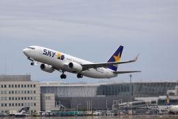 funi9280さんが、新千歳空港で撮影したスカイマーク 737-8ALの航空フォト(写真)