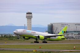 funi9280さんが、新千歳空港で撮影したジンエアー 777-2B5/ERの航空フォト(写真)